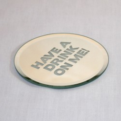 Glass Coaster