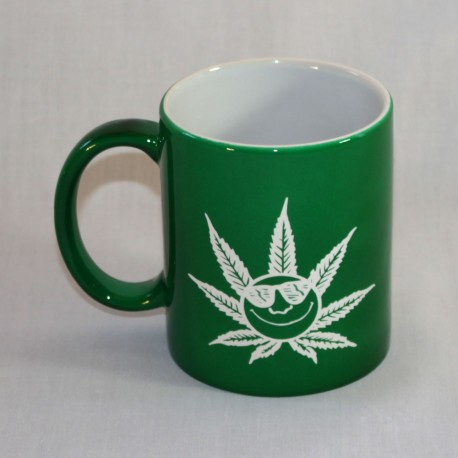 Happy Leaf Mug